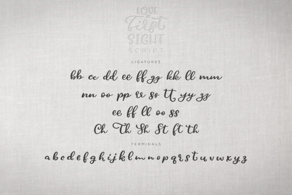 Print on Demand: Love at First Sight Display Font By Ayca Atalay - Image 13