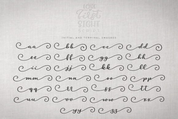 Print on Demand: Love at First Sight Display Font By Ayca Atalay - Image 14