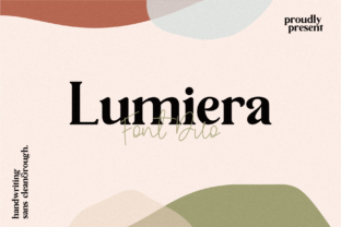 Lumiera Font By Holis Mjd