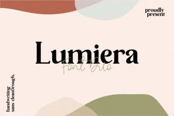Print on Demand: Lumiera Sans Serif Font By 24Design Studios
