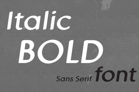 Print on Demand: MD Pen Bold Italic Sans Serif Font By Margarita Dyakovich - Image 2