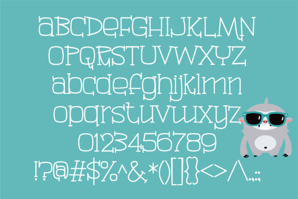 Madagascar Font By Illustration Ink Creative Fabrica