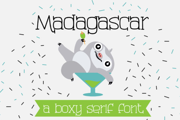 Print on Demand: Madagascar Serif Font By Illustration Ink