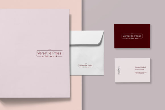 Print on Demand: Magnolia Pre-made Logo Set of 24 Logos Graphic Logos By Primafox Design - Image 3