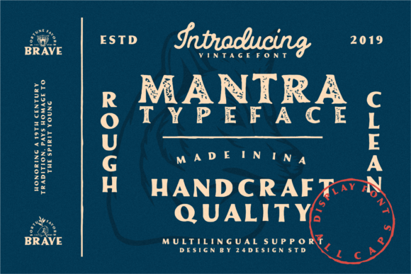 Print on Demand: Mantra Display Font By Nur Cholis - Image 2