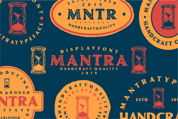 Print on Demand: Mantra Display Font By Nur Cholis
