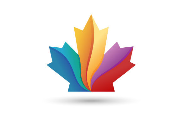 Download Free Maple Leaf Logo Canadian Flag Symbol Graphic By Hartgraphic for Cricut Explore, Silhouette and other cutting machines.