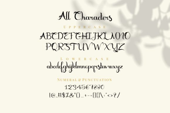 Marceila Font By putracetol Image 9