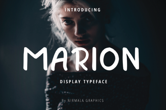 Print on Demand: Marion Display Font By nirmala.graphics