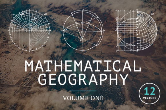 Mathematical Geography Vol. 1 Graphic Objects By BlackLabel