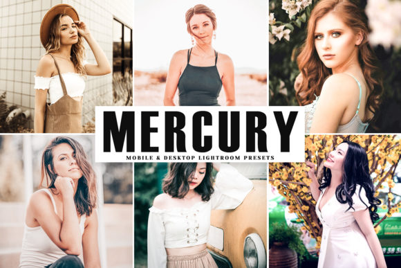 Mercury Pro Lightroom Presets Grafik von Creative Tacos