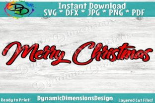 Download Free Merry Christmas Graphic By Dynamicdimensions Creative Fabrica for Cricut Explore, Silhouette and other cutting machines.