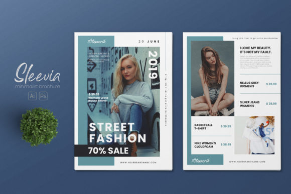 Download Free Minimalist Fashion Ai And Psd Flyer 1 Grafico Por Alexacrib83 SVG Cut Files