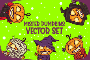 Mister Pumpkins Vector Graphic By fadhil figuree