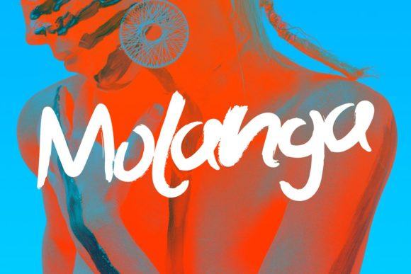 Print on Demand: Molanga Display Font By themesocio