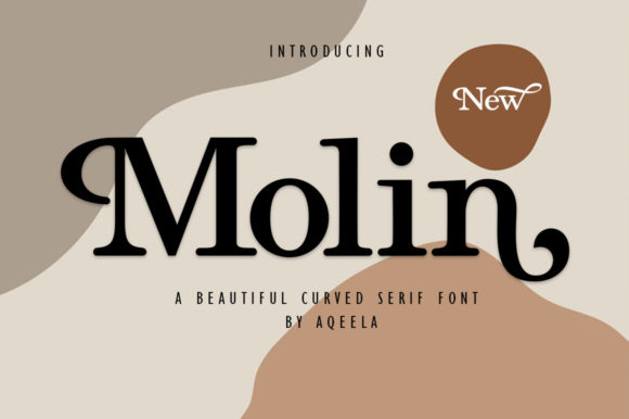 Print on Demand: Molin Serif Font By Aqeela Studio