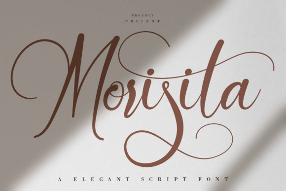 Print on Demand: Morisita Script & Handwritten Font By Vunira