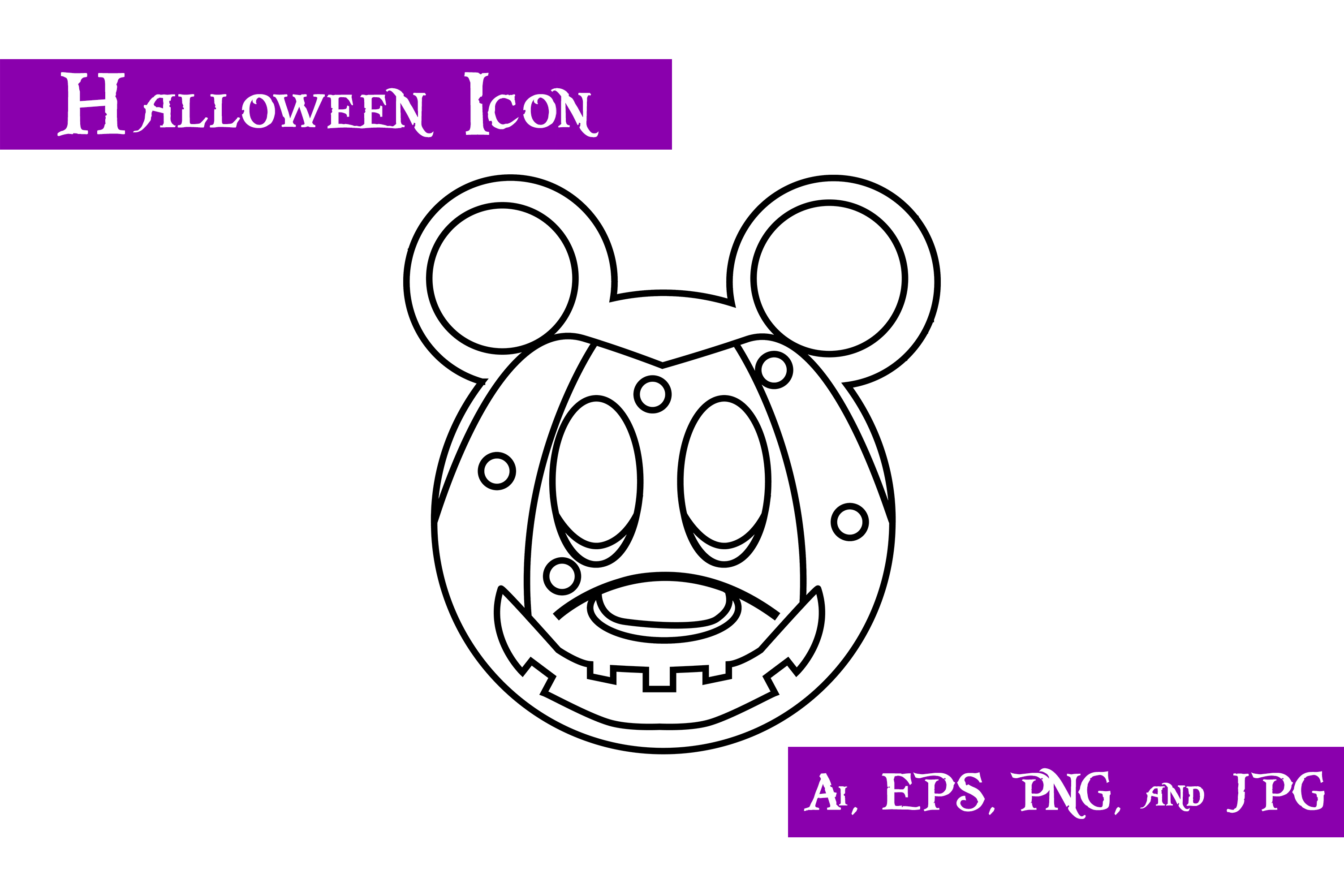 Download Free Mouse Mask Icon Graphic By Purplespoonpirates Creative Fabrica for Cricut Explore, Silhouette and other cutting machines.