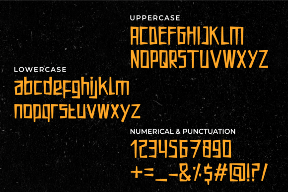 Print on Demand: Mucca Lucca Display Font By MENK Studio - Image 8