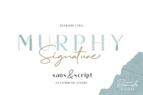 Print on Demand: Murphy Script & Handwritten Font By letterhend