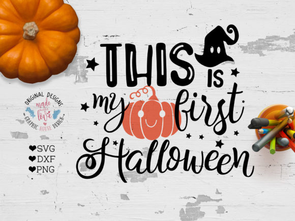 Print on Demand: My First Halloween Graphic Crafts By GraphicHouseDesign - Image 1