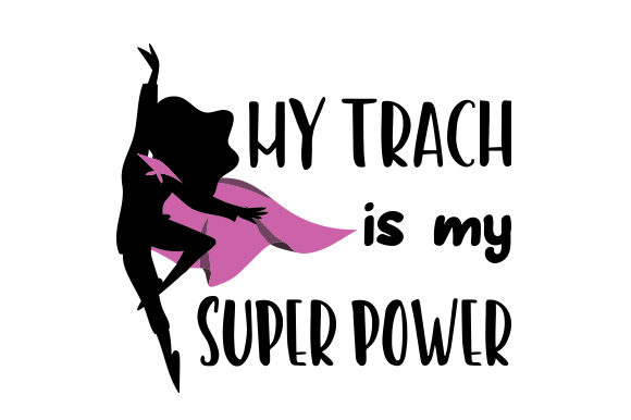 My Trach is My Super Power Awareness Craft Cut File By Creative Fabrica Crafts - Image 1