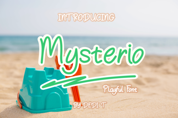 Print on Demand: Mysterio Display Fuente Por miracleboykenzie