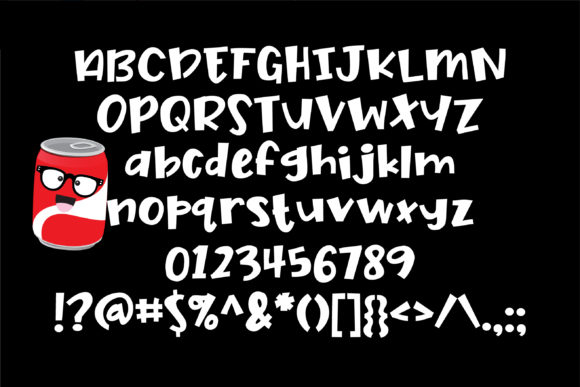 Nerdy Nummies Font By Illustration Ink Image 2