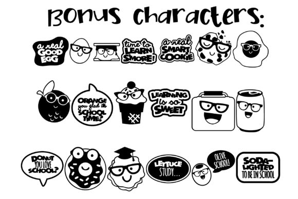 Nerdy Nummies Font By Illustration Ink Image 6