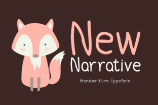 New Narrative Font By Shattered Notion