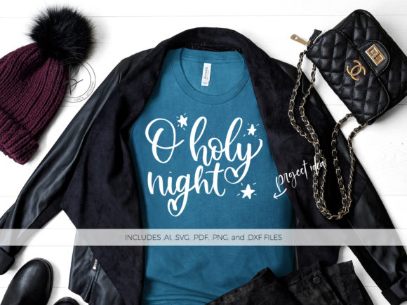 Print on Demand: O Holy Night Graphic Crafts By BeckMcCormick