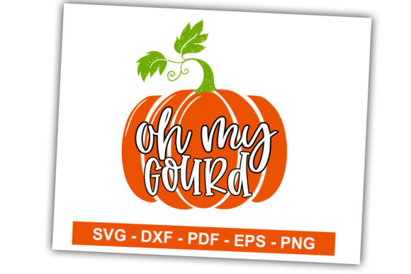 Print on Demand: Oh My Gourd Graphic Crafts By svgbundle.net