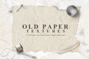 Old Paper Textures Graphic By NassyArt