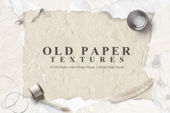 Old Paper Textures Graphic Textures By NassyArt