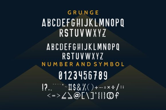 Print on Demand: Onnic Sans Serif Font By EdricStudio - Image 5