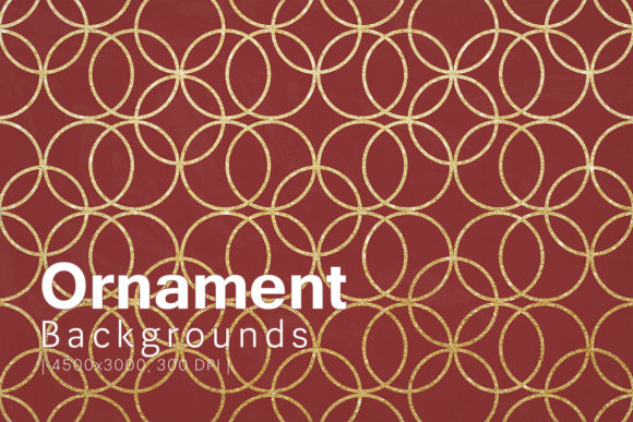 Print on Demand: Ornament Backgrounds Graphic Backgrounds By freezerondigital