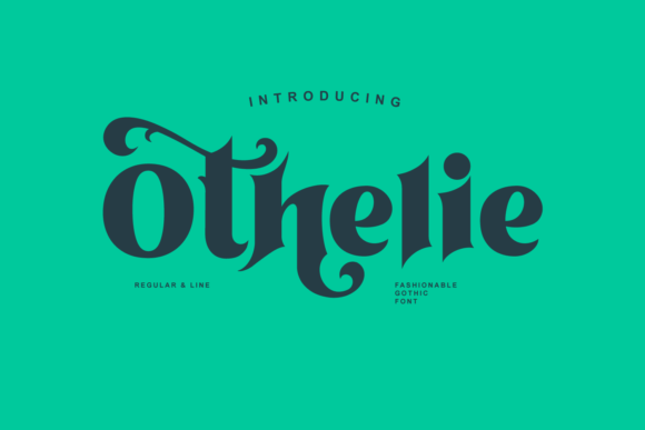 Print on Demand: Othelie Display Font By creativemedialab