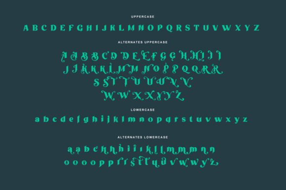 Print on Demand: Othelie Display Font By creativemedialab - Image 10