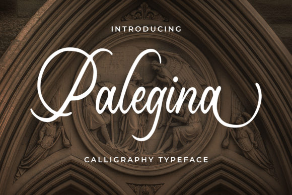 Print on Demand: Palegina Script & Handwritten Font By Blankids Studio