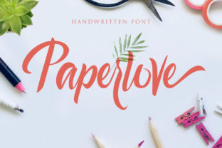 Print on Demand: Paperlove Script & Handwritten Font By agniardii