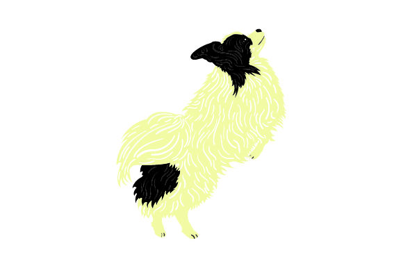 Papillon Jumping Dogs Craft Cut File By Creative Fabrica Crafts - Image 1