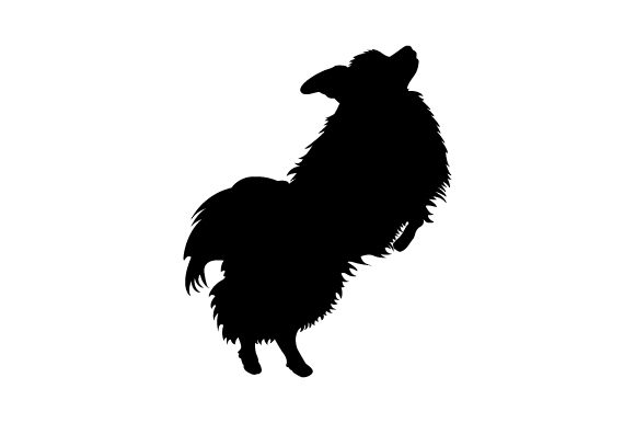 Papillon Jumping Dogs Craft Cut File By Creative Fabrica Crafts - Image 2