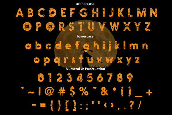 Print on Demand: Penari Decorative Font By da_only_aan - Image 2