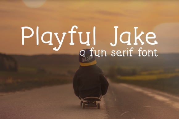 Print on Demand: Playful Jake Serif Font By Pinoyartkreatib