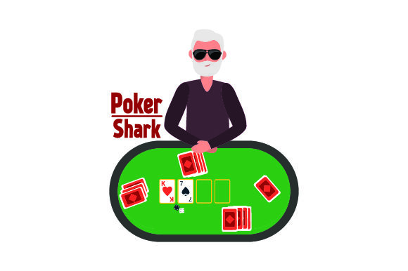 Poker Shark Games Craft Cut File By Creative Fabrica Crafts - Image 1