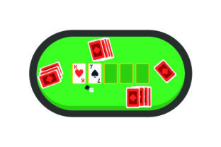Poker Table Games Craft Cut File By Creative Fabrica Crafts
