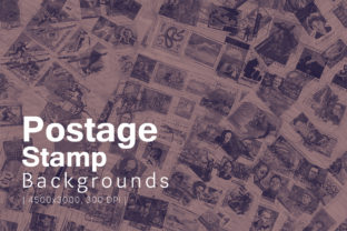Postage Stamp Backgrounds Graphic By freezerondigital