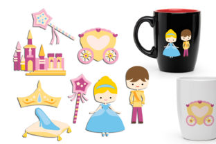 Princess Graphic By Revidevi