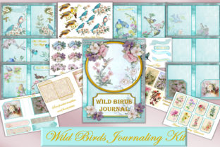 Printable Journal Kit Wild Birds Graphic By The Paper Princess