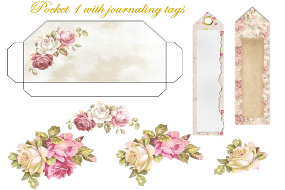 Print on Demand: Printable Journal Kit with Free Ephemera Graphic Backgrounds By The Paper Princess - Image 9
